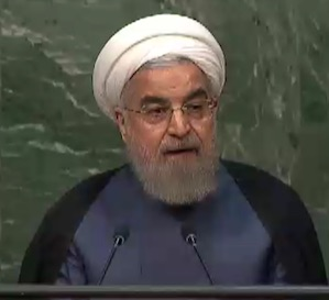 President Hassan Rouhani of the islamic repoublic of Iran
